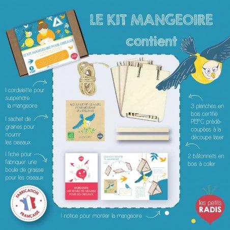 Kit mangeoire pour oiseaux