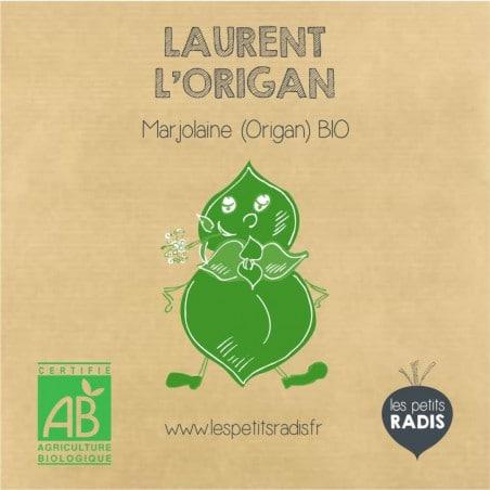 Graines d'origan bio (marjolaine bio)- Laurent l'origan
