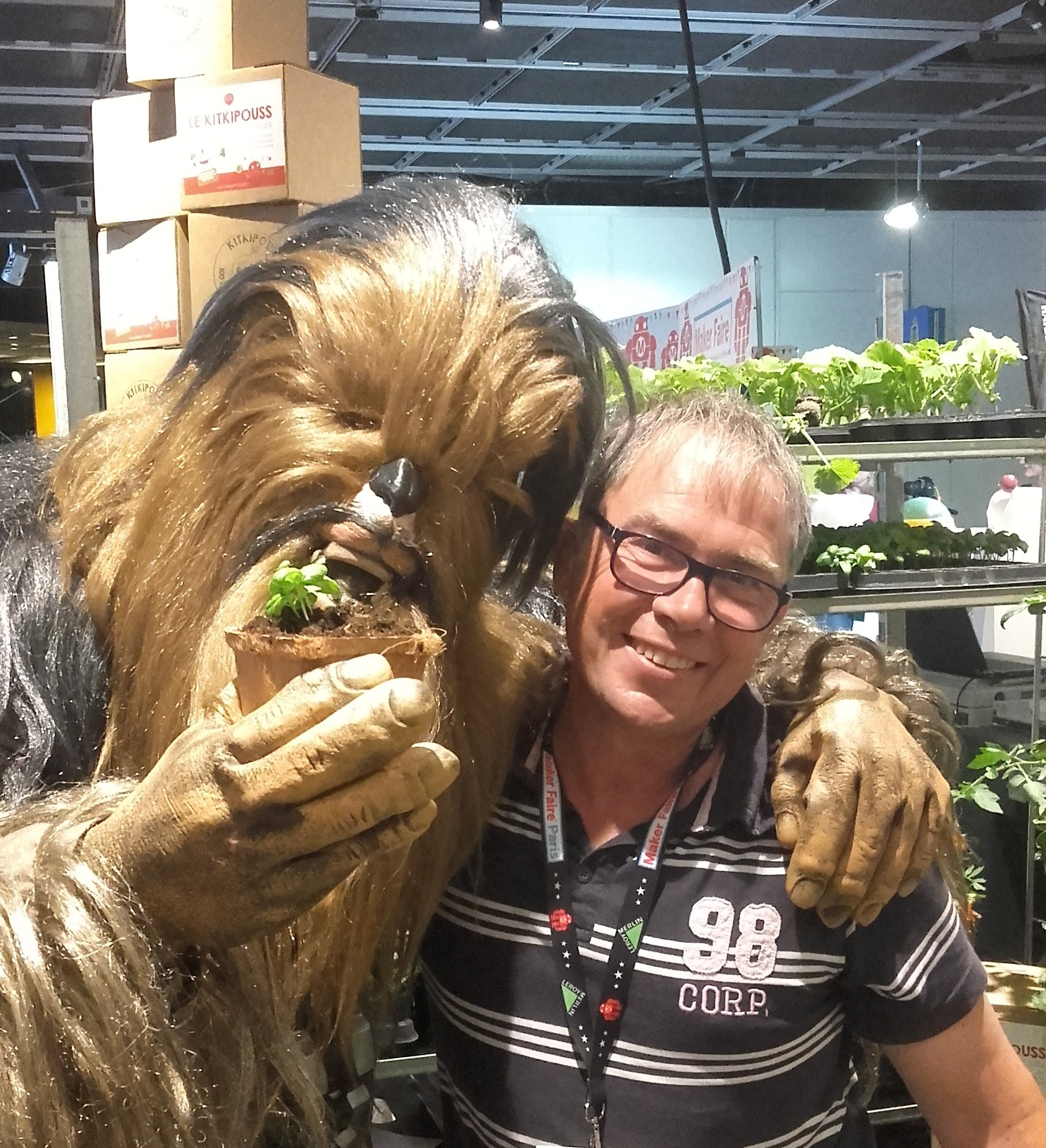 Hubert et chewbaca