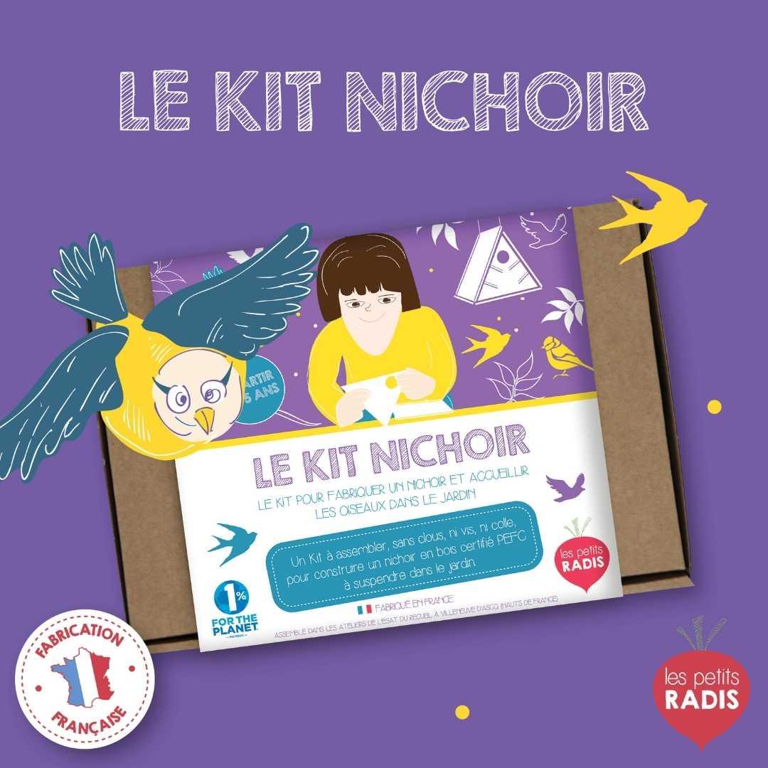 kit nichoir oiseaux