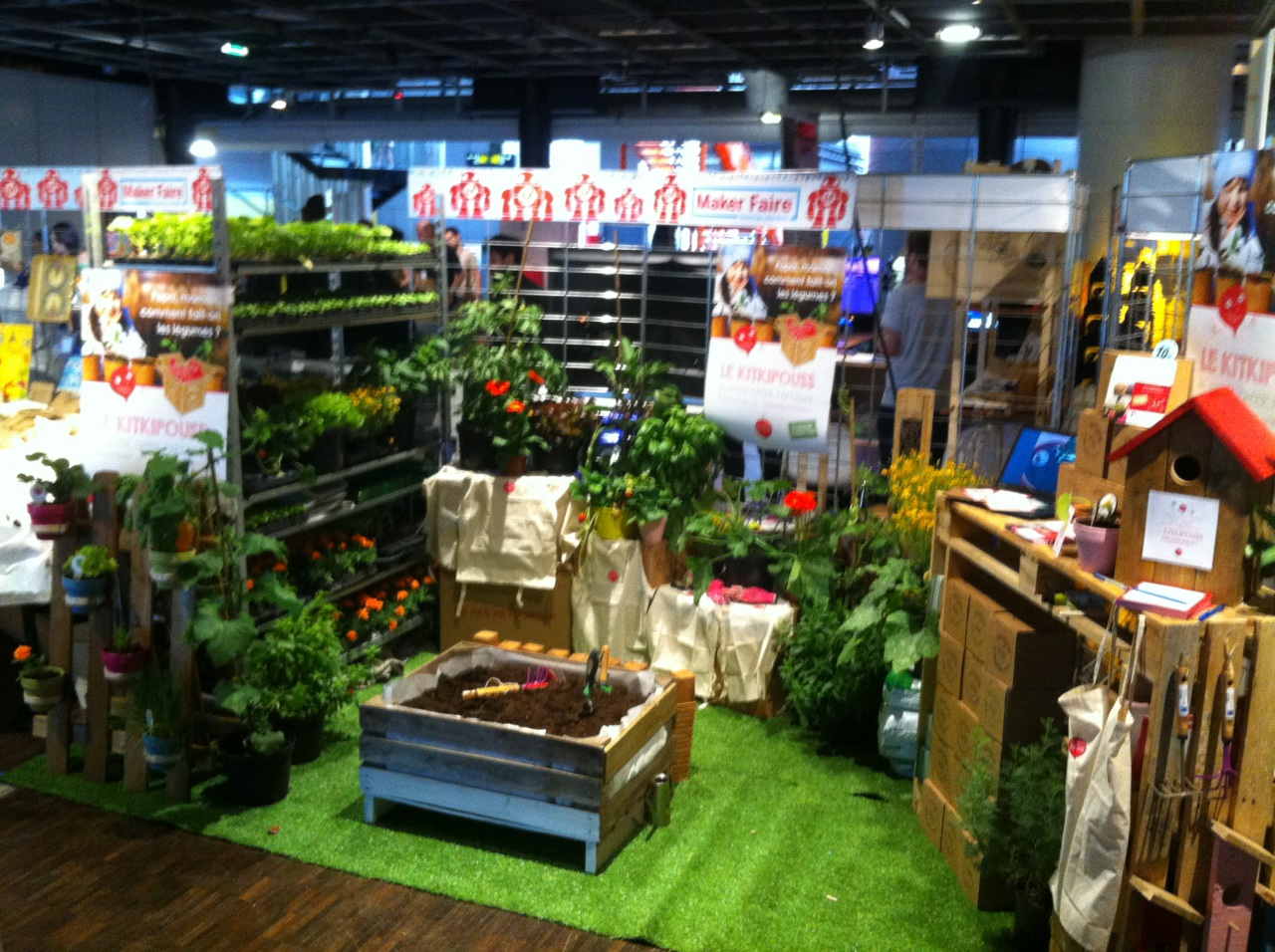 potager Maker Faire Paris